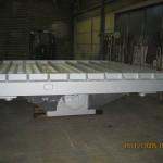 Ausschlagrost 3x3 m, 15 to Auflast, 1 x 30 Kw Antriebsleistung