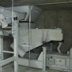 Kernsandaufbereitung, mit Knollenbrecher, Becherwerk