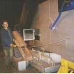 Ofenbeschickungseinheit 8 to mit Zuschlagstoffbunker