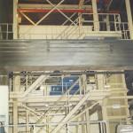 Zuschlagstoffanlage, 4 x 4 Bunker a.4 m³