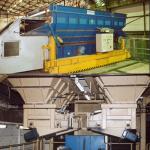 Ofenbeschickungseinheit 12 to, mit 30 to Plattformwaage, Zuschlagstoffanlage