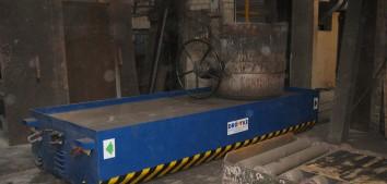 Pfannentransportwagen, 20 to